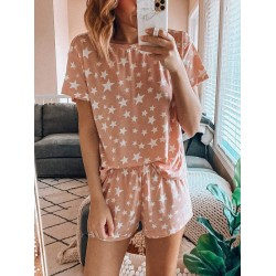 Star print comfortable and loose home service