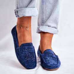 Women's flat hollowed out comfortable flat shoes